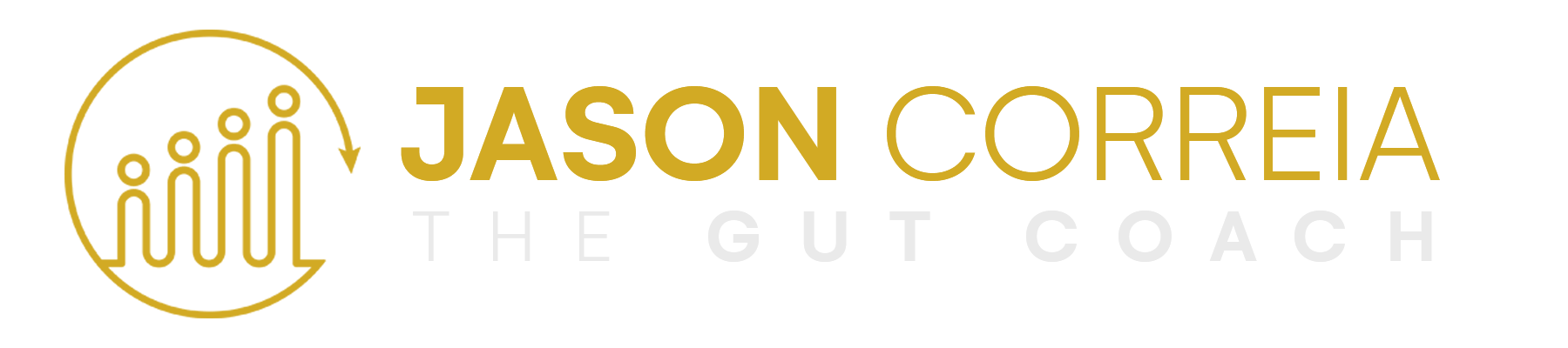 Jason Correia The Gut Coach logo