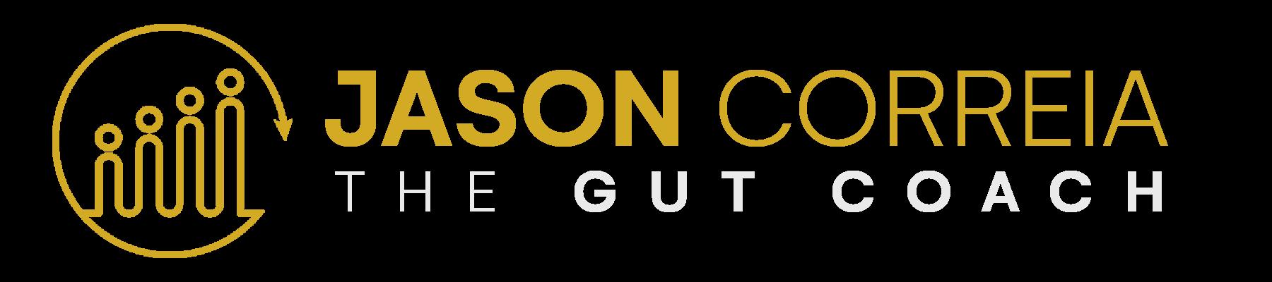 Jason Correia The Gut Coach logo